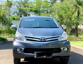 KM only 50rb an Record Toyota Avanza 1.5 G A/T 2014 NIK 2013 full ori