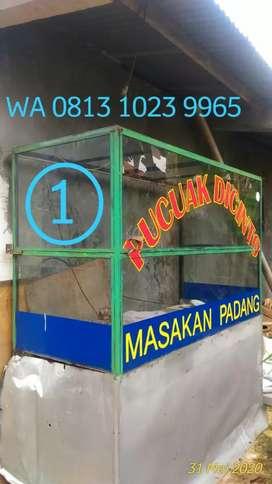 Perabotan buat warung nasi atau warung Padang siap pk...5.800.000 nego
