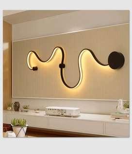 Lampu dinding led minimalis dekorasi ruang keluarga 1248 ID36
