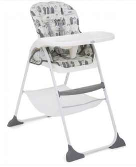 Joie Mimzy Snacker High Chair Petite City Black & Grey