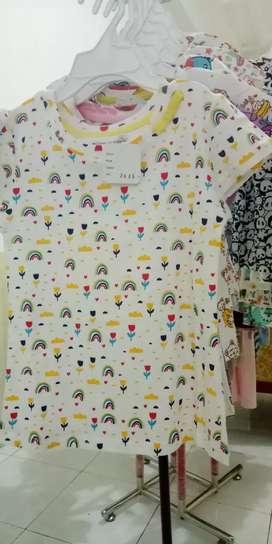 Jual baju kaos anak bermotif