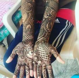 I am doing mehendi in all functions