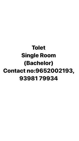Tolet single room