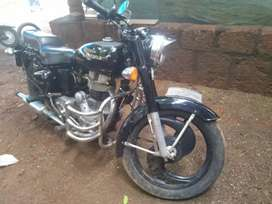 Well condition. Royal Enfield well maintained