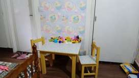 Lominati with deco top Kid table chairs