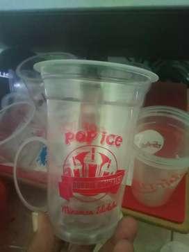 Gelas plastik pp 14/15oz 7 gram