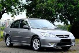 Honda Civic Vtis AT 2004 km 50 Ribuan SANGAT ANTIK!!