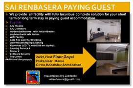 Very good pg in Ahmedabad,cleaning is excellent, friendly atmosphere.