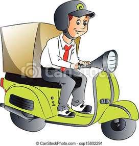 E Com Express delivery executive