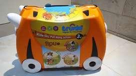 ORIGINAL Trunki Luggage Tipu Tiger Koper Traveling Anak