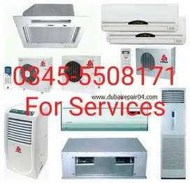 Ac service installation repair all kind air conditions work