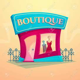 Boutique with stitching unit for sale in MG road prime location