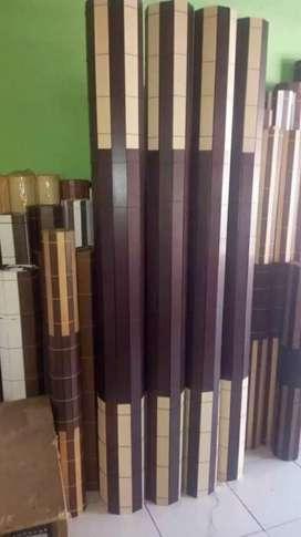 Jual bli kerey kayu bambu item