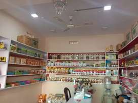 Dry fruit store is for Sale with interiors and stock