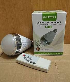 LAMPU LED SPEAKER BLUETOOTH FLECO F-603/DISCO