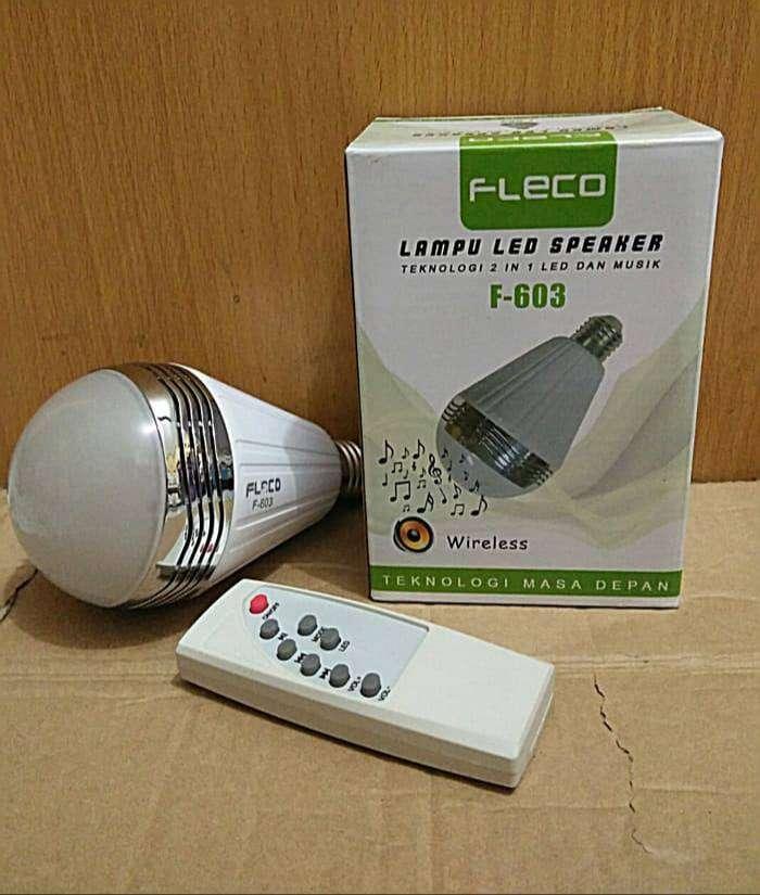 LAMPU LED SPEAKER BLUETOOTH FLECO F-603/DISCO 0