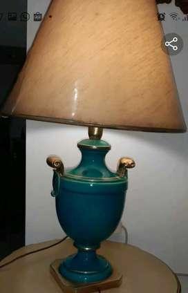 lampu meja antik porcelain import american style