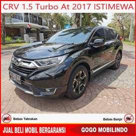 Honda CRV 1.5 Turbo 2017 Istw bs kredit murah