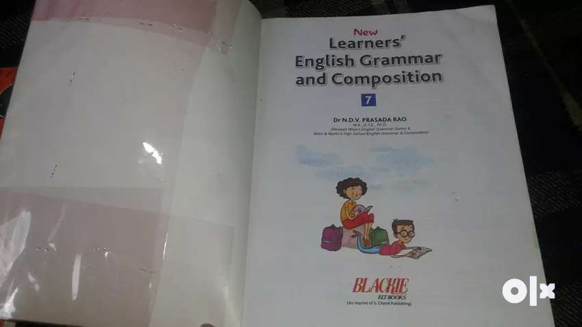 i want to sell my new fresh english grammar 7th 0