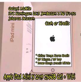 New iPad Mini 5 2019 256GB Cell +WiFi Bisa Cash Kredit Minat Japri