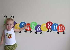 Counting Caterpillar for Kids Learning