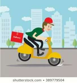 Wantend food delivery boys for Swiggy in Tenali