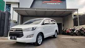 Toyota Innova Reborn G AT Bensin White 2016 KM 20rb ANTIK