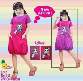Dress Tunik Balon LOL LED bisa nyala
