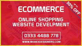 eCommerce Online Shopping Website Development in Karachi Pakistan