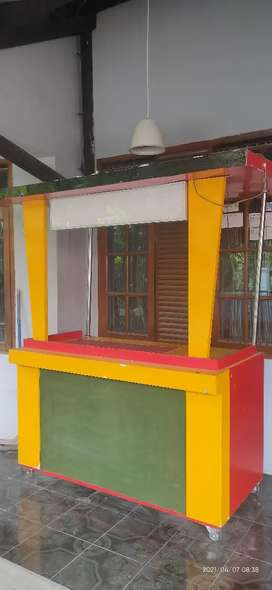 Counter (gerobak)  makanan / minuman