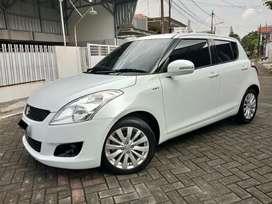 "Suzuki Swift 1.4 GX Manual 2012 Putih ""Tgn Ke-1 KM 90rb "", Bisa Kredit"