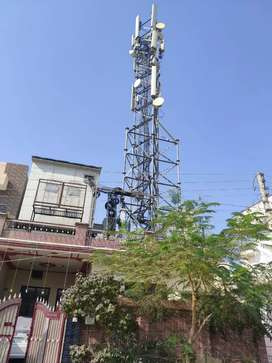 Mobile tower house in bachan Colony multania road bathinda