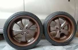 Vossen 16 Inches Alloy Rims With New Tyres