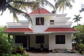 Urgent sale of 4 BHK house in Chalakudy and flat in Kakkanad