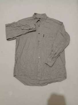 Flanel B*rberry size L Likenew condition