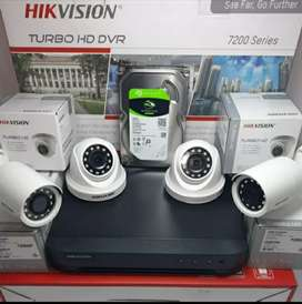 PAKET CCTV HIKVISION TURBO HD TERBAIK DIKELASNYA, GRATIS PASANG JOGJA