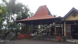 Promo Pendopo Rumah Joglo Ukir soko 20cm bahan kayu jati