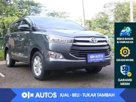 [OLX Autos] Toyota Kijang Innova 2.0 G M/T 2018 Abu-abu