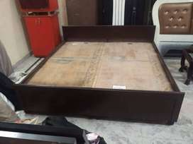 brand new designer double bed at satya furniture