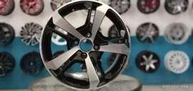 Jual velg baru R15x7.0 h4x100/114.3 et38 bisa untuk Datsun go Vios
