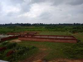 Beautiful location land on NH33 in jainamore