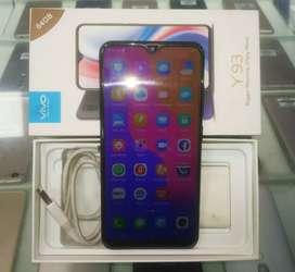 VIVO Y93 3GB-64GB Fingerprint, 4month used, box kit bill,  SKY MOBILES
