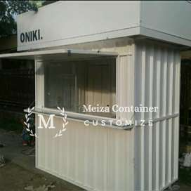 Booth Semi CONTAINER / JASA PEMBUATAN CONTAINER/ CONTAINER COFFE *10