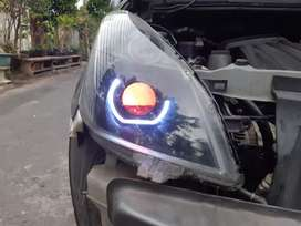custome lampu segala mobil