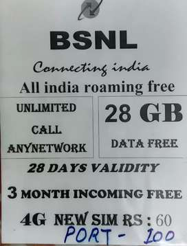Normal Bsnl sim  sale interested person call me