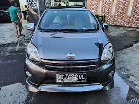 Toyota Agya Trd Sportivo 1.0L Matic 2015 Abu2 Metalik