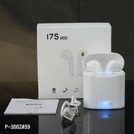 Elegant White I7s TWS Mini Twin Portable In-ear Bluetooth Wireless