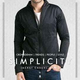 Jaket Casual Gaya Korea Simplicity | Jaket Jogja | Crowsdenim SK-70
