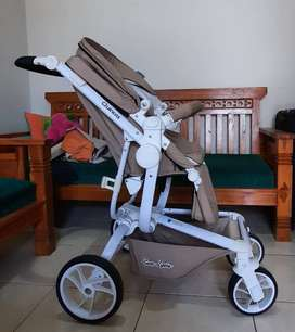 Stroller Chocolate Quintas kondisi sangat bagus