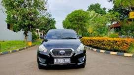 Datsun Go Plus 2016 Manual 3 baris Hitam Mulus Terawat siap luar kota
